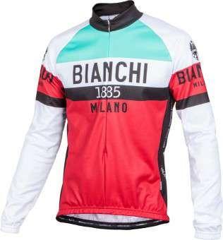 Langarm Trikot Bianchi Milano