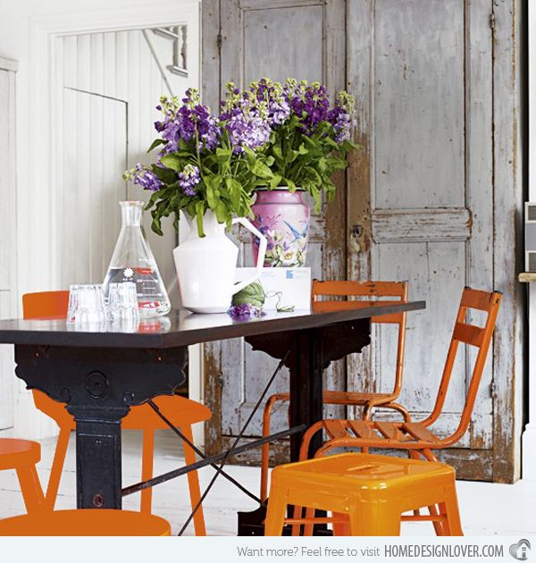 25+ Best Ideas About Orange Dining Room On Pinterest