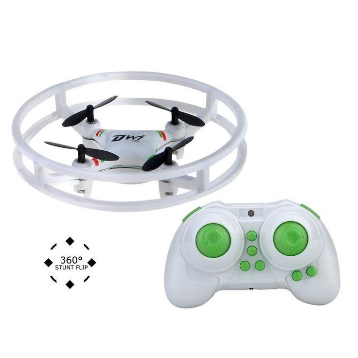 """Este mini dron es muy característico por disponer de un aro doble que protege su cuerpo y hélices. Esta protección es de las más eficaces que se pueden encontrar en un dron de estas características, no tendremos que preocuparnos de que se nos vaya a romper el dron ni las hélices. De la misma manera … Continuar leyendo """"DWI Espacio Trek UFO de Kingtoys"""""""