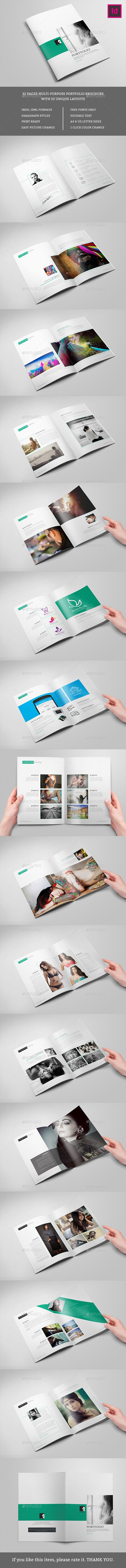 Best Minimalist Brochure Template Images On
