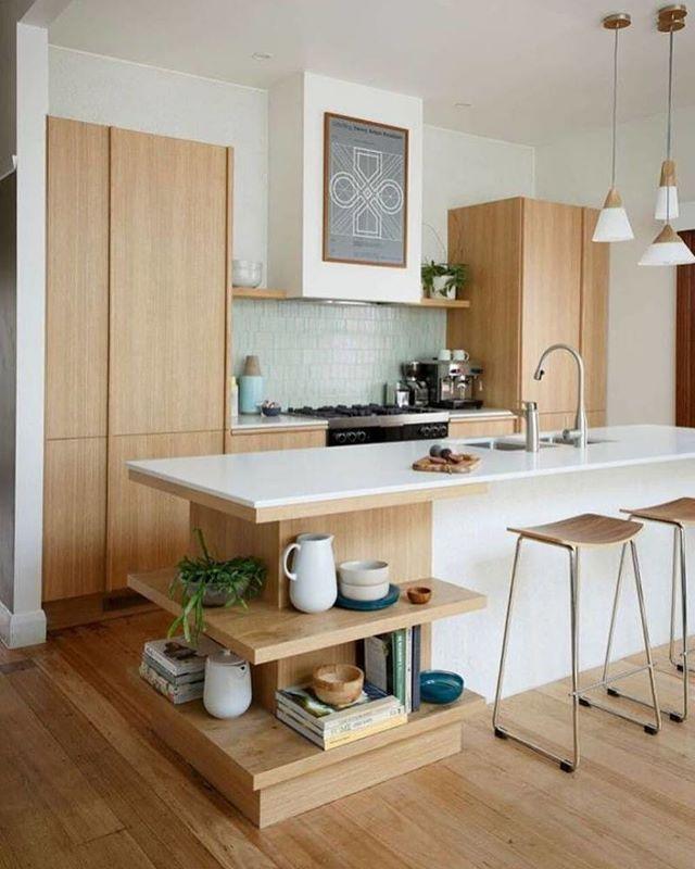 inspiração da noite com essa cozinha charmosinha 😉😊 #decor #kitchen #cozinha #referencia #interiordesign #interiores