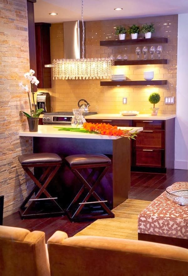 beautiful small kitchen design ideas - Small Apartment Kitchen Design Ideas