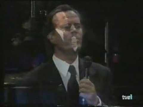 julio iglesias en concierto live can,t help falling in love
