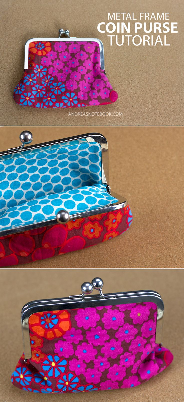 Diy Coin Purse No Sew The 25+ best Purse tut...