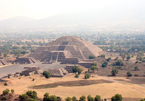 Teotihuacán, Estado de México, México.