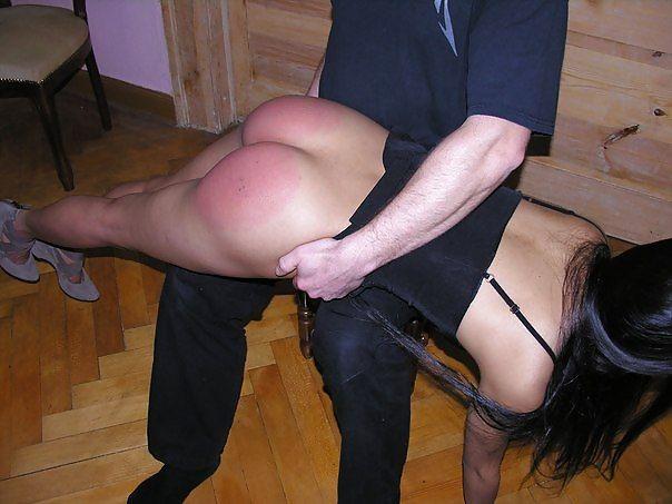 Angry husband spanking naughty wife - XVIDEOSCOM