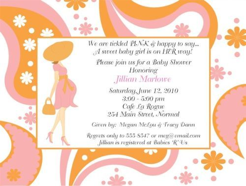 baby shower text