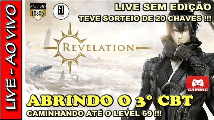 🔴 REVELATION ONLINE NO 3° CBT COM SORTEIO DE 20 CHAVES ! VENHA JOGAR !