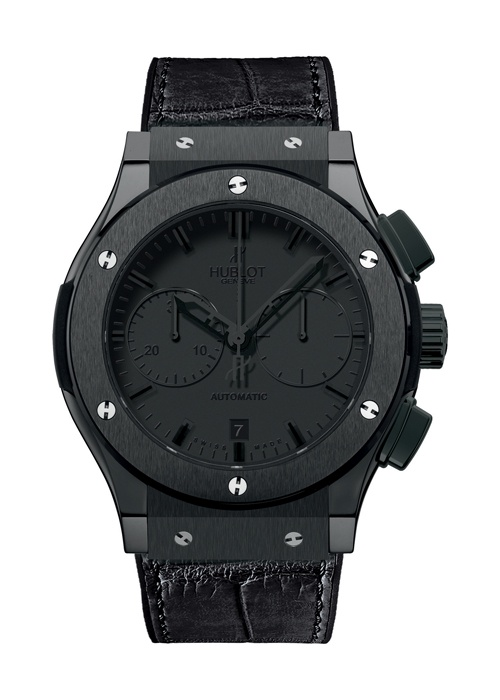 Classic Fusion All Black Chronograph watch from Hublot