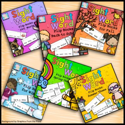 air jordan 6 release dates 2015 Sight Word Flip Books BUNDLE from TeacherTam on TeachersNotebook com      This BUNDLE contains all 6 sets of Sight Word Flip Books  This includes the following sets  CVC  back to school  fall  winter  spring  and summer  Each set covers over 100 sight words