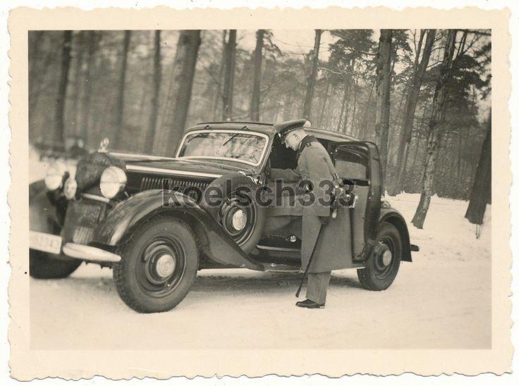 Foto mercedes benz pkw wehrmacht offizier l wenkopfs bel for Mercedes benz of buckhead staff