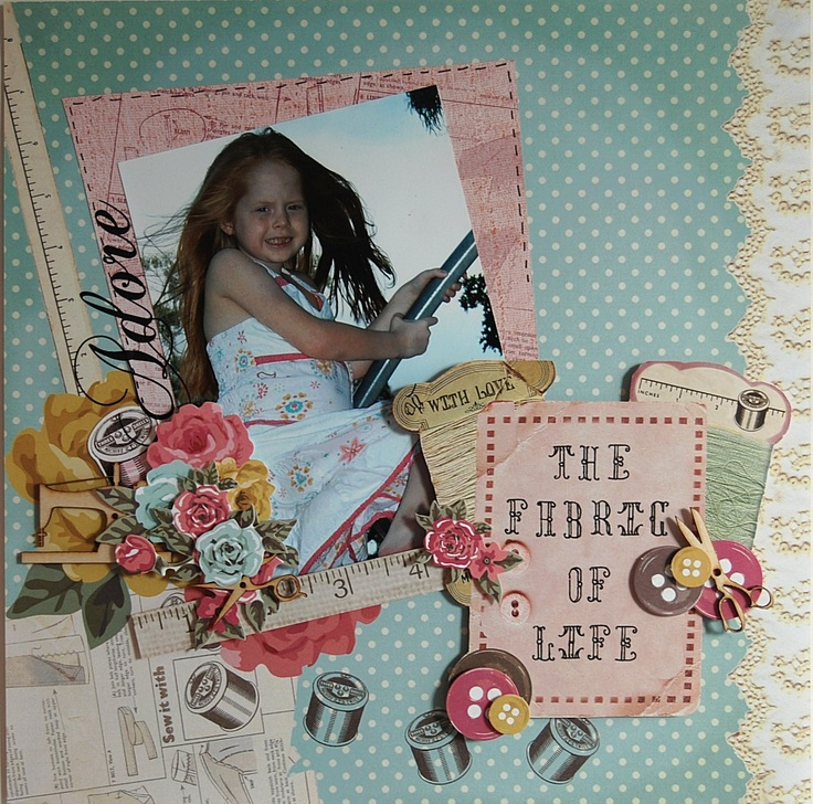 'Adore' Layout by Hetty Hall