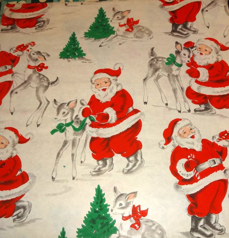 from santa wrapping paper Shop for santa christmas wrapping paper on etsy, the place to express your creativity through the buying and selling of handmade and vintage goods.