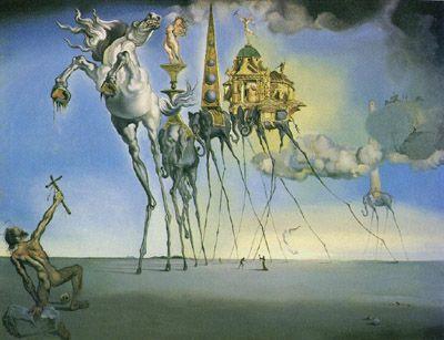 Salvadore Dali painting