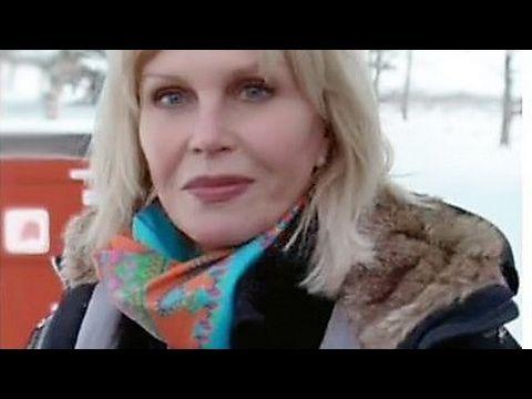 Joanna lumley in YOGYRAMA 'Glimpse' silk scarf, actress styles the best