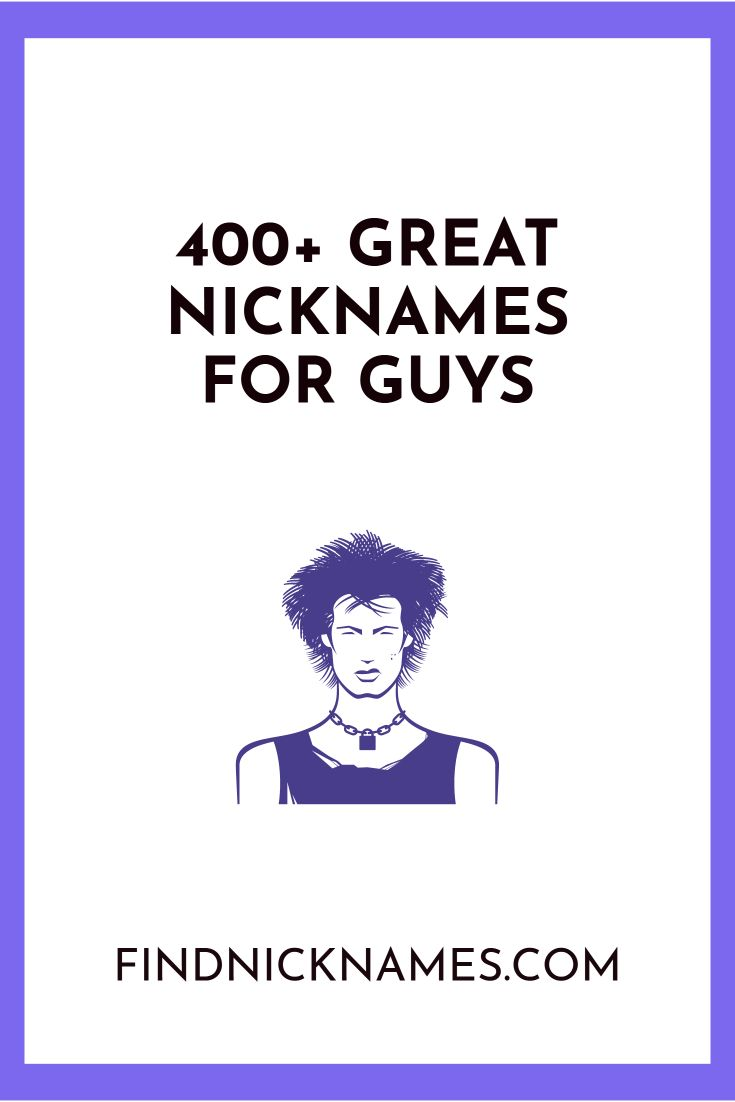 Great dating nicknames
