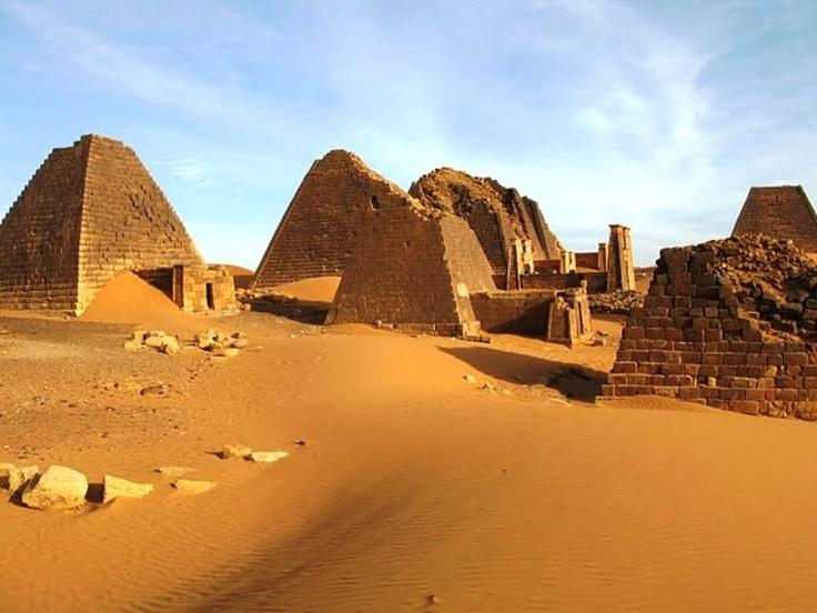 Sudan #Tourism .. Pyramids