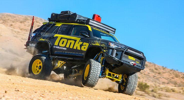 Toyota Tonka 4Runner, un juguete a tamaño real - http://www.actualidadmotor.com/toyota-tonka-4runner-un-juguete-a-tamano-real/