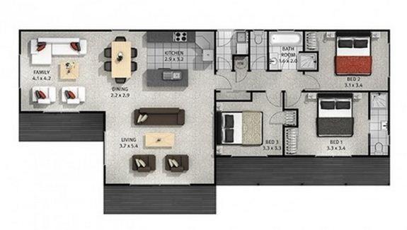 17 best images about planos on pinterest house plans for Planos de casas de campo gratis