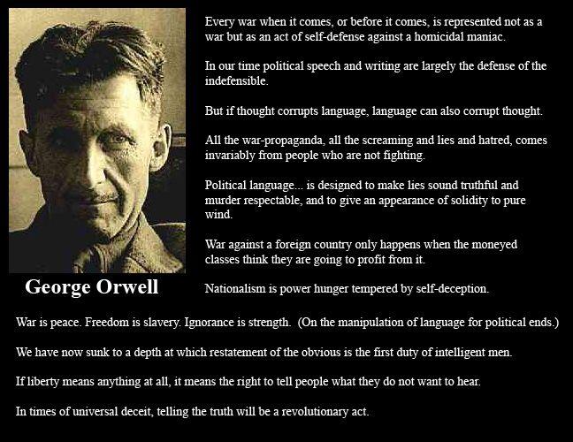 George Orwell On War | The Random Blog