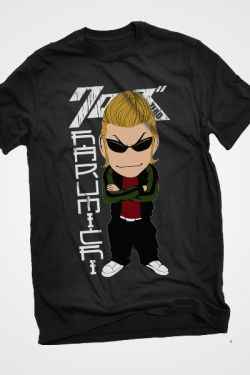 T-Shirt Crows Zero Harumichi Chibi