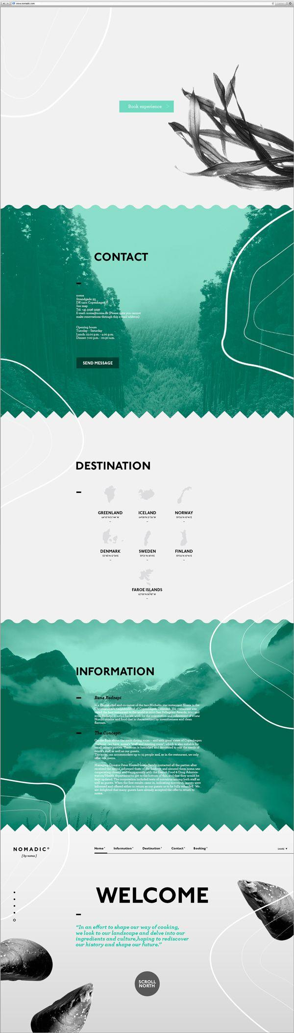 Nomadic [by noma] by Louise Lahn, via Behance