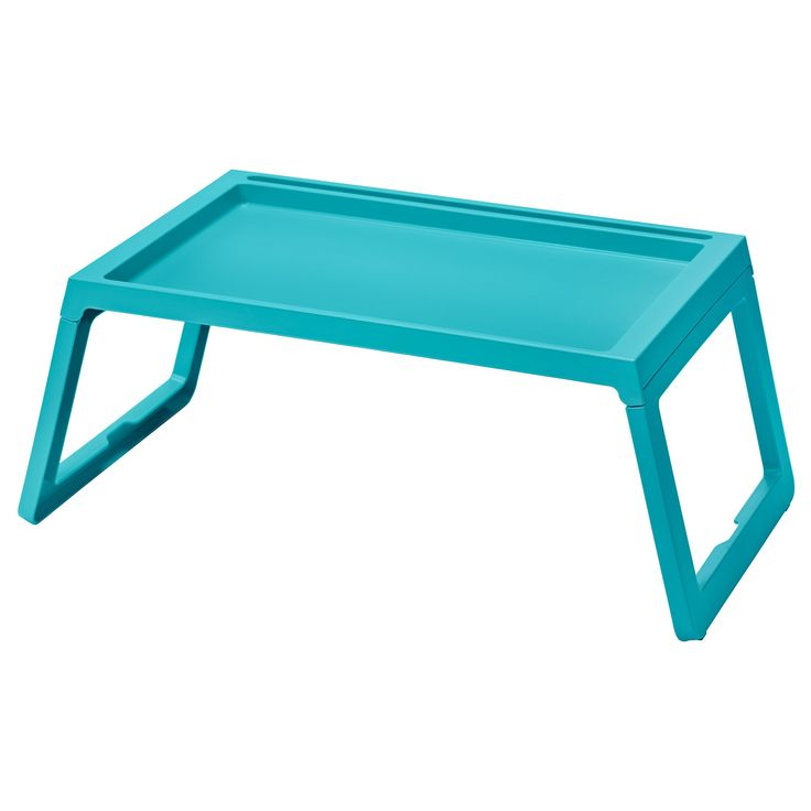 KLIPSK yatak tepsisi turkuaz 56x36x26 cm | IKEA Sofralar