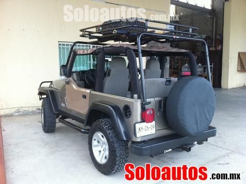 JEEP Wrangler 2003 Verde Manual, Puerto Vallarta, Jalisco, ID 814473