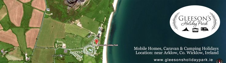 Take a look at our stunning location with Google Earth.  Gleeson's Holiday Park, Co. WIcklow, is the perfect location for a range of holiday makers from short stay camping & caravan holidays to mobile home owners who return on a regular basis.  We also offer mobile homes & sites for sale with private access to the beautiful Clogga beach as well as lots of onsite amenities and activities including tennis courts & Pitch and Putt. For more information visit http://gleesonsholidaypark.net