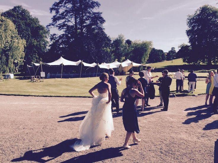 Stretch tent wedding! #stretchtent #alternativemarquee #event #weddingvenue #eleganttent #moderntent #modernmarquee #wedding #venue