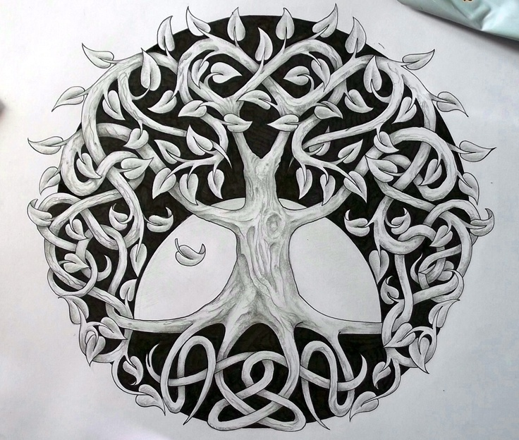 Celtic Tree Of Life 2 By ~Tattoo-Design On DeviantART I