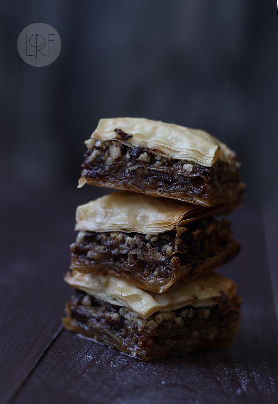 Baklava de chocolate