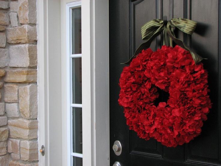 Christmas Wreath Holiday Wreaths Front Door By Twoinspireyou