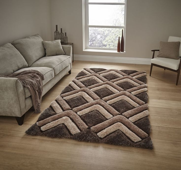 Think Rugs Le House Nh8199 Beige Brown Rug