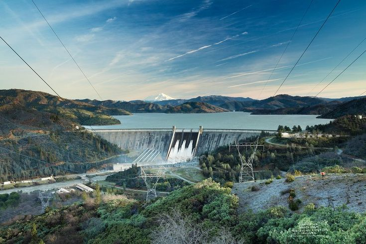 The majestic Three Shasta'a; including a very full Mount Shasta, Shasta Lake, and Shasta Dam.  I've been wanting to take a portfolio image from up here for quite some time, and after two very very early trips with two great friends (one being my Grandpa Leon - pictured here in the red jacket - lower right), I finally discovered this perspective.  I am in love with this photo, featuring a time-blending technique and capturing from 7:25-8:26am.  At this time  the flow rate fo...