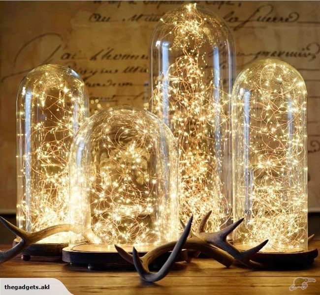 Fairy Lights LED Wire Seed Decor WARM WHITE x2   Trade Me