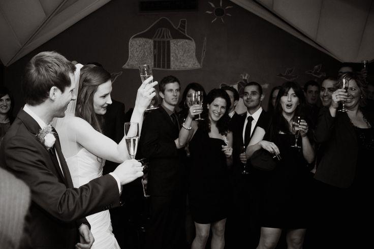 Un toast aux nouveaux mariés / newlyweds' toast