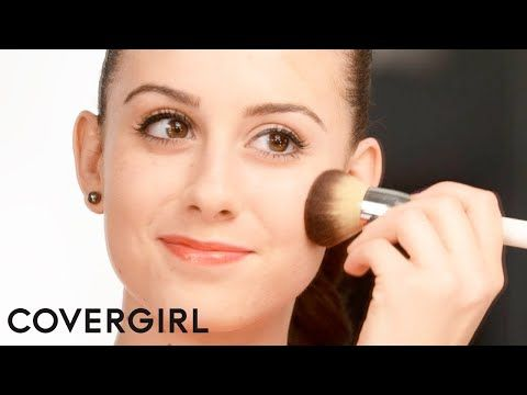 Makeup Tips: How to Apply Bronzer for Fair Skin | COVERGIRL - YouTube