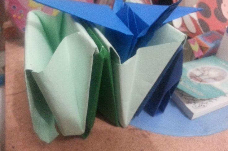 Origami Gruya