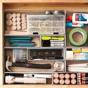 Best 25+ Junk Drawer Organizing Ideas On Pinterest | Junk Drawer, Hall  Closet Organization And Office Drawer Organization