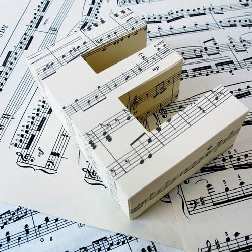 1000 Ideas About Piano Sheet Music On Pinterest: 1000+ Ideas About Music Letters On Pinterest