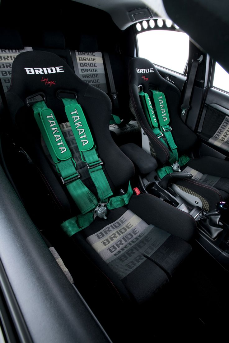 Install Racing seats and a harness system