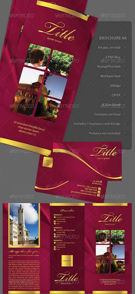 8 best Brochure Design images on Pinterest Brochure design - pamphlet sample