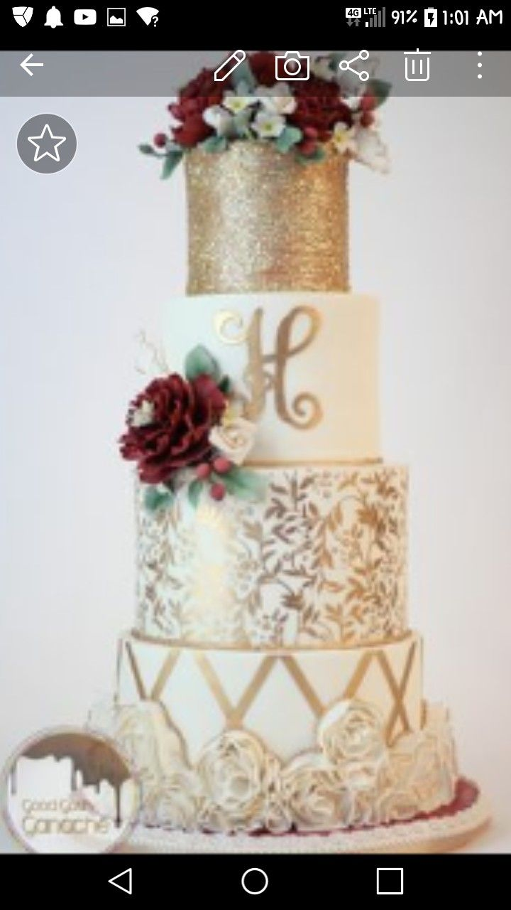 Wedding decorations names october 2018 Pin by Lisa Eason on JuJ in   Pinterest  Wedding cakes Cake
