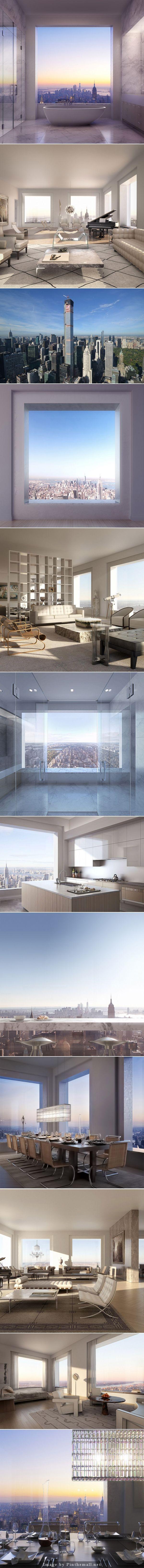 Mindig is egy különleges, kreatív és egyedi otthonról álmodoztál? Akkor nézd meg, milyen lehet a világ legdrágább lakásaiban élni! :)