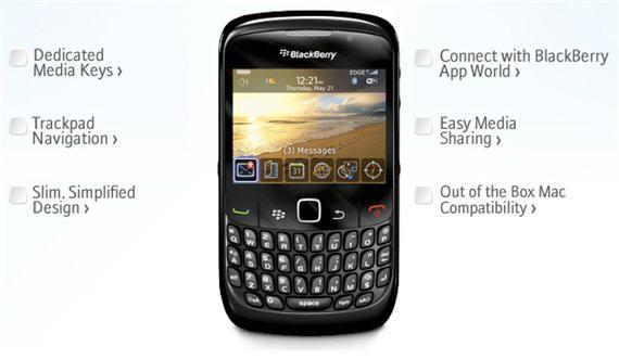 Redington releases an Official BlackBerry Curve 8520 OS 5.0.0.1096