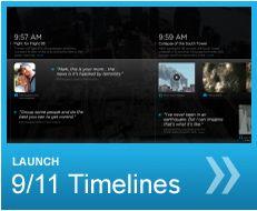 INteractive 9/11 Timelines via National September 11 Memorial & Museum