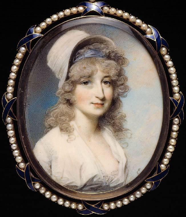 George Engleheart, Miss Lindsay, c.1790