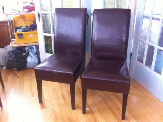 recovering parsons chairs