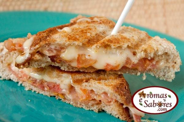 10 receitas de queijos quentes especiais - 10 grilled cheese sandwiches